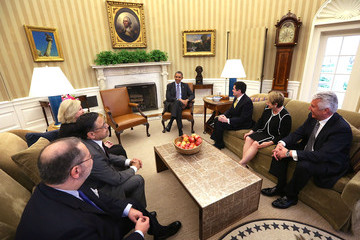 Dieter Uchtdorf Barack Obama Meets with Faith Leaders