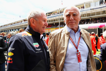 Dietrich Mateschitz Spanish F1 Grand Prix