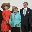 Dieudonne Nzapalainga King Willem-Alexander & Queen Maxima of the Netherlands Attend Four Freedoms Awards