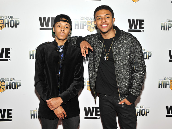 Russell Simmons Ii >> Diggy Simmons And Russell Simmons Ii Photos Photos We Tv