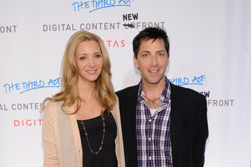 Lisa Kudrow Dan Bucatinsky Digitas & The Third Act Present The DCNF Conference - Arrivals