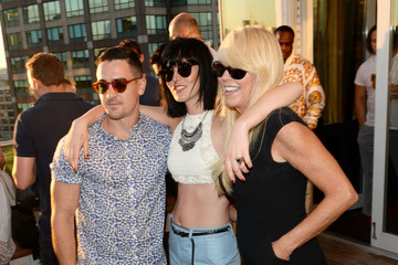 Dina Lohan Guests Attend the Ranbeeri Denim Launch Party, Hosted by Ali Lohan