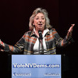 Dina Titus Sen. Bernie Sanders Attends Rally For Nevada Democrats In Las Vegas