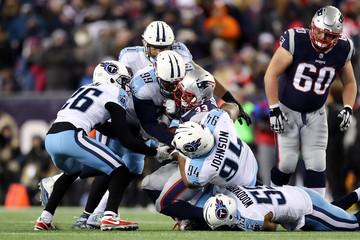 Dion Lewis Divisional Round - Tennessee Titans v New England Patriots