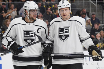 Dion Phaneuf Los Angeles Kings v Vegas Golden Knights - Game One