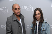 Max Osterweis and Erin Beaty attends the Dior And I NY Premiere on April 7, 2015 in New York City.