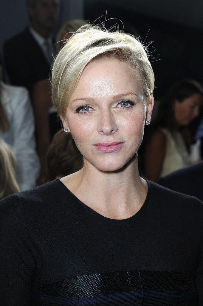 Princess Charlene Goes From A Red Cross Ceremony To A Chef