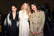 (L-R) Amira Casar, Haley Bennett and Jeanne Damas attend the Dior Haute Couture Spring/Summer 2020 show as part of Paris Fashion Week on January 20, 2020 in Paris, France.