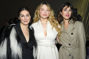 Amira Casar, Haley Bennett, Gala Gordon attends the Dior Haute Couture Spring/Summer 2020 show as part of Paris Fashion Week on January 20, 2020 in Paris, France.