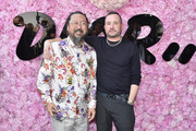 Takashi Murakami and Kim Jones attend the Dior Homme Menswear Spring/Summer 2019 show as part of Paris Fashion Week on June 23, 2018 in Paris, France.