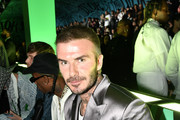 David Beckham seen front row of the runway at Dior Men's Pre-Fall 2020 Runway Show on December 03, 2019 in Miami, Florida.