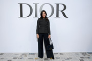 Julia Restoin Roitfeld attends the Dior show as part of the Paris Fashion Week Womenswear Fall/Winter 2020/2021 on February 25, 2020 in Paris, France.