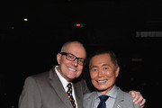 George Takei (R) and spouse Brad Altman attend DirecTV TO BE TAKEI Media Reception at The General NYC on July 2, 2014 in New York City.