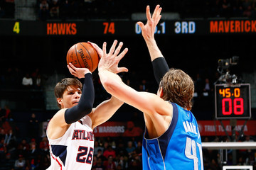 Dirk Nowitzk Dallas Mavericks v Atlanta Hawks