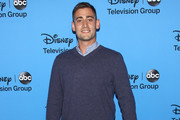 "Actor Michael Socha attends the Disney & ABC Television Group's ""2013 Summer TCA Tour"" at The Beverly Hilton Hotel on August 4, 2013 in Beverly Hills, California."