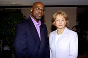 """20/20 - 3/5/96 .Barbara Walters interviews Christopher Darden, one of the prosecuting attorneys at the O.J. Simpson murder trail, for his first interview since the trial ended with Simpson's controversial acquittal on October 3, 1995. The interview airs on ABC News' """"20/20"""" on Friday, March 15, 1996.    .(Photo by ABC Photo Archives via Getty Images) CHRISTOPHER DARDEN, BARBARA WALTERS"""