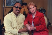 "20/20- Barbara Walters and Stevie Wonder.  In an exclusive interview with Barbara Walters, Stevie Wonder and his eye surgeon say there is a possiblity he might one day see; interview to air on ""20/20 Friday"" friday, December 17.   CREDIT: VIRGINIA SHERWOOD  52025_1_9.JPG"