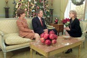 53599D_85   20/20 --  President George W. Bush and Laura Bush will give ABC News' Barbara Walters a personal tour of the White House and its Christmas decor (it is now closed to public tours), and their first sit-down interview since Sept.11th, on 20/20 airing WEDNESDAY, DEC. 5 (10-11 pm, ET) on the ABC Television Network.  DIGITAL.CREDIT: VIRGINIA SHERWOOD/ABC