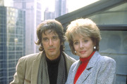"""20/20 - 10/15/92 .Barbara Walters interviewed Al Pacino about his life and his work on ABC News' """"20/20"""" airing on the ABC Television Network. .(Photo by Kimberly Butler/ABC via Getty Images)  .AL PACINO, BARBARA WALTERS"""