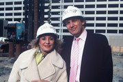 """20/20 - 10/15/87.Barbara Walters interviewed Donald Trump at one of his new developments for """"20/20""""..(Photo by Donna Svennevik/ABC via Getty Images).BARBARA WALTERS, DONALD TRUMP"""