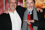 """Director Jon Avnet (L) and actor Martin Landau attend Disney ABC Television Group & The Hallmark Hall of Fame premiere of """"Have A Little Faith"""" at Fox Studios on November 3, 2011 in Century City, California."""