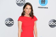 Robin Tunney attends Disney ABC Television Hosts TCA Winter Press Tour 2019 on February 05, 2019 in Pasadena, California.