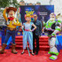 "Tom Hanks Photos - (L-R) Woody, Bo Peep, Tom Hanks and Buzz Lightyear attend the European premiere of Disney and Pixar's ""Toy Story 4"" at the Odeon Luxe Leicester Square on June 16, 2019 in London, England. - Tom Hanks Photos - 53 of 5101"