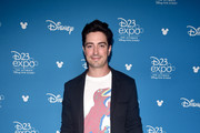 Ben Feldman of 'Monsters at Work' took part today in the Disney+ Showcase at Disney's D23 EXPO 2019 in Anaheim, Calif.  'Monsters at Work' will stream exclusively on Disney+, which launches November 12.
