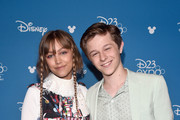 (L-R) Grace VanderWaal and Graham Verchere of 'Stargirl' took part today in the Disney+ Showcase at Disney's D23 EXPO 2019 in Anaheim, Calif.  'Stargirl' will stream exclusively on Disney+, which launches November 12.