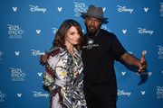 (L-R) Tina Fey and Jamie Foxx of 'Soul' took part today in the Walt Disney Studios presentation at Disney's D23 EXPO 2019 in Anaheim, Calif.  'Soul' will be released in U.S. theaters on June 19, 2020.