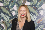 Kimberley Walsh attends a performance by Dita Von Teese and The Copper Coupe at The Box Soho on November 14, 2018 in London, England.