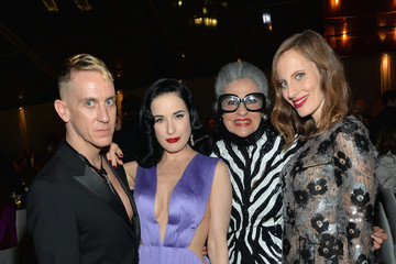 Dita Von Teese MOCA's 35th Anniversary Gala Presented By Louis Vuitton At The Geffen Contemporary At MOCA - Inside
