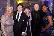 (L-R) Jacquie Lawrence, Linda Riley, Dawn Airey, Ross Kemp and Dawn Butler MP at the 2018 Diva Awards at The Waldorf Hilton Hotel on June 8, 2018 in London, England.