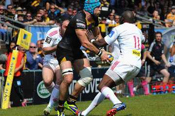Djibril Camara London Wasps v Stade Francais Paris - European Rugby Champions Cup Play-off