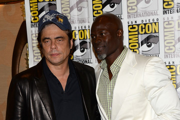 Djimon Hounsou Arrivals at the Marvel Panel at Comic-Con