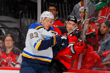 Dmitrij Jaskin St Louis Blues v New Jersey Devils