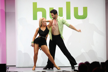 Dmitry Chaplin  Celebs at the Hulu Upfront Event in NYC 2