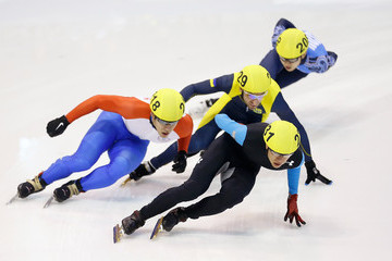 Dmytro Poltavets Samsung ISU World Cup Short Track: Day 2
