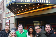 """(L-R) Alexander Buono, Paula Pell, Richard Kind, Renee Elise Goldsberry, Fred Armisen, and Rhys Thomas attend the """"Documentary Now"""" Red Carpet, Screening And After Party during the 2019 Sundance Film Festival at The Egyptian Theatre on January 27, 2019 in Park City, Utah."""