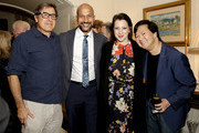 David O. Russell, Keegan-Michael Key, Elisa Pugliese and Ken Jeong attend the 'Dolemite Is My Name' John Davis Hosted Tastemaker at a Private Residence on November 19, 2019 in Beverly Hills, California.