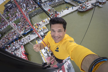 Dom Joly In-Port Race Itajai - Volvo Ocean Race 2014-2015