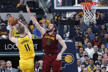 Domantas Sabonis Cleveland Cavaliers vs. Indiana Pacers - Game Four