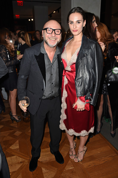 615e3b0a Domenico Dolce and Sophie Auster Photos Photos - Dolce & Gabbana ...