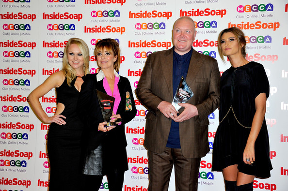 Arrivals at the Inside Soap Awards