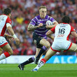 Dominic Crosby St Helens v Wigan Warriors - First Utility Super League: Grand Final