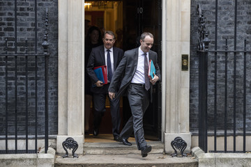Dominic Raab Ministers Attend Weekly Cabinet Meeting Ahead Of The Prime Minister's Visit To Brussels