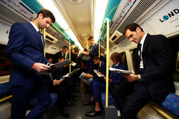 Dominic Thiem Nitto ATP Finals Players Take The London Underground