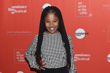 Dominique Fishback 2018 Sundance Film Festival - An Artist At The Table Cocktail Reception And Dinner