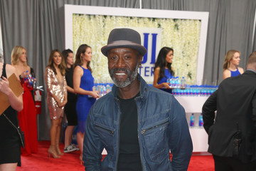 Don Cheadle FIJI Water At The 59th Annual GRAMMY Awards