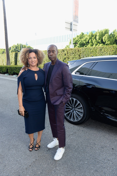 Don Cheadle And Bridgid Coulter Photos Photos Audi Arrives At The